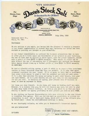 What Is E-invoicing Pdf Letterheadsbillheadsold Letters Vintage Letterhead Antique  Sale Receipt Form with Blank Receipt Template Pdf Word Daves Salt Stock Omaha Nebraska Sample Acknowledgement Receipt Letter Pdf